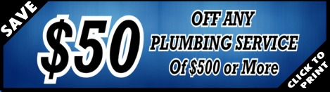 $50 Off of Houston Plumber Services - YB Discounts & Coupons!